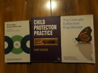 Social work text books for sale
