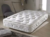 Brand New 4ft6 Double or 5ft King Luxury 1500 - 2000 - 3000 Pocket Sprung Mattress With Memory Top