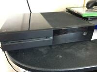 Xbox one day one edition with original controller and wired controller, all cables included