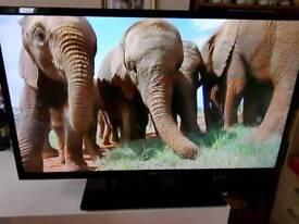 "Seiko 40"" tv flat screen"