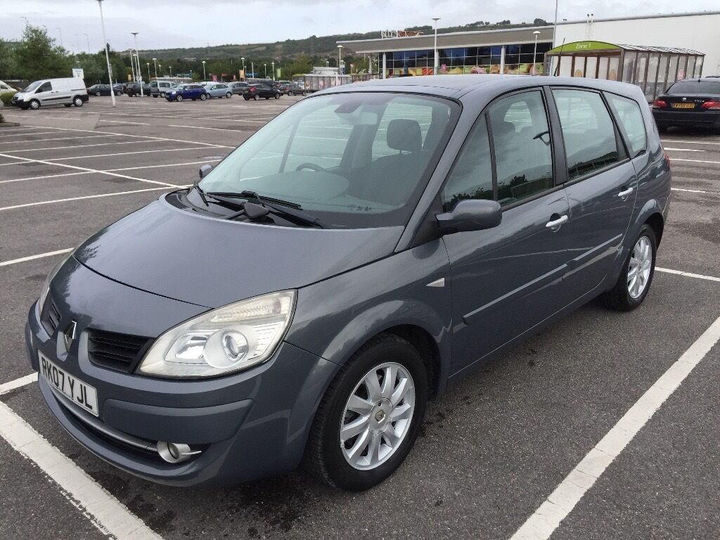 2007 RENAULT G-SCENIC DYN-7 DCI 150 / NEW MOT / PX WELCOME / 7 SEAT DIESEL / FINANCE / WE DELIVER