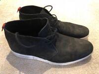 Men's black suede Dune Boots (10)