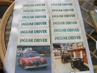 Jaguar Driver Magazines. 1986. Complete Year. 12 Issues