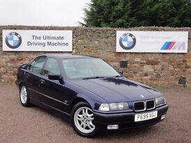 BMW E36 328i Saloon, Manual, 99k Miles, 3 Owners, FSH, MOT: 1 Year