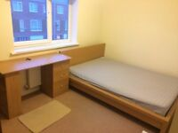 Bright double bedroom close to manchester city centre