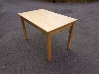 Solid Wood Ikea Table 120cm FREE DELIVERY 351