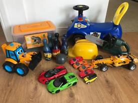 Collection of toys