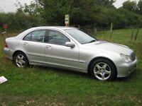 2003 Mercedes C270 CDI Avantgarde SE Auto.Long MOT.S/H.P/X welcome.
