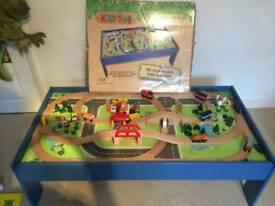 Kids train track