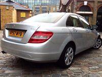 Mercedes-Benz C Class 2.1 C220 CDI SE 4dr p/x welcome **NAVIGATION**FULL S/H** 2008 (57 reg), Saloon