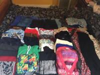 Huge bundle of woman's clothes 10-12