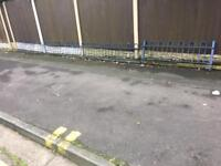 20ft of quality bow top railings / wall toppers / steel fencing CAN DELIVER