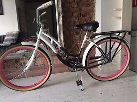 Retro Ladies Pink Schwinn Bicycle for sale