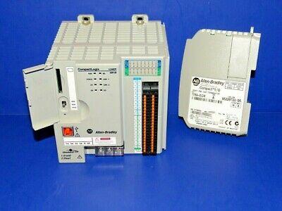Allen Bradley 1769-l24er-qb1b A Compactlogix Processor W End Cap