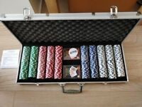 Texas Poker Set 500 Piece