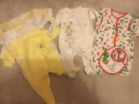 Used Baby Boy Girl Newborn - 3 Months Bundle Of Clothes
