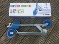 Zinc - Style-A-Ride - folding inline scooter - 5-9 years (with box)