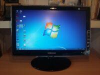 """Samsung computer monitor 19"""""""