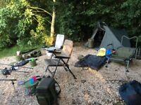 Full carp set up