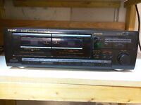 TEAC STEREO DOUBLE CASSETTE DECK W-600R - Very good condition - Manchester city centre