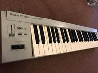Roland pc-200 mk 2 midi controller keyboard very good condition