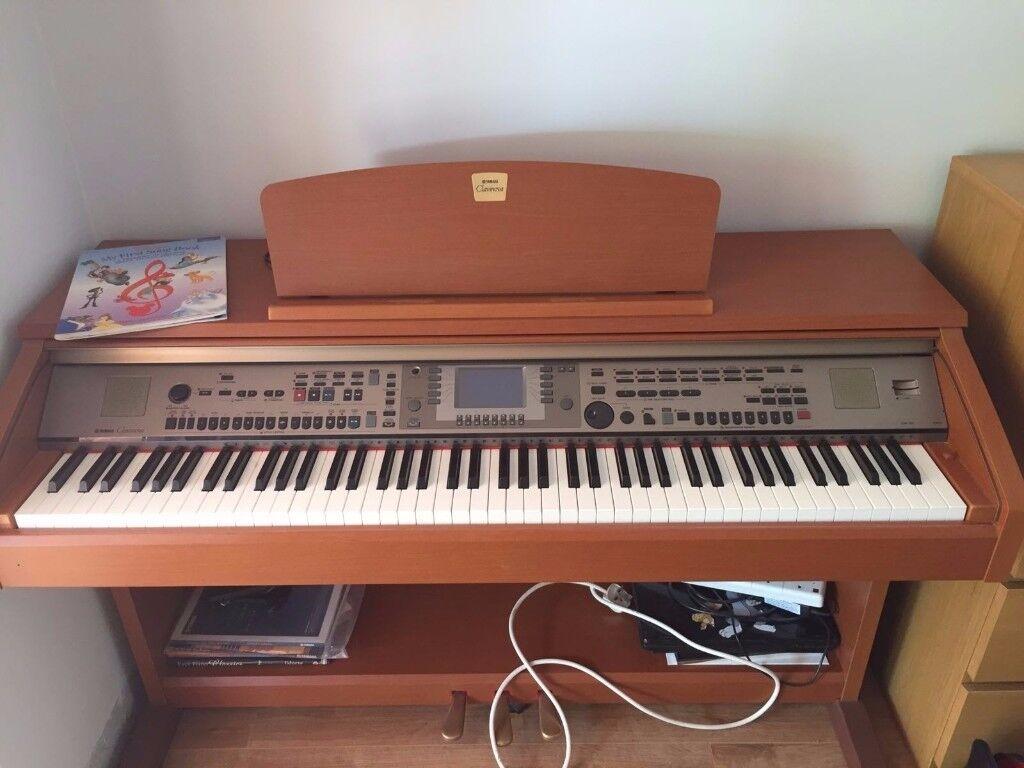 Yamaha clavinova digital piano cvp 301 cherry wood with for Yamaha digital piano philippines
