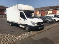 2007 07reg Mercedes Sprinter 2.2 Cdi Luton Van Tail Lift White