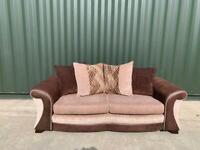 DFS 3 seater sofa + footstool £200 Excellent Condition (Can Arrange Delivery)
