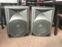 Skytec PA Speakers (Ex Display Never Been Used)