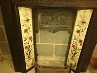 Cast Iron Tiled Fireplace