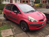 2003 HONDA JAZZ S Only One Previous Owner