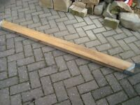 """WOOD - 5 LENGTHS OF 5"""" X 2"""" JOIST FOR SHED OR FENCE. 6 FT LONG."""