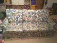 3 Seater Sofa / Settee FREE to Collector!