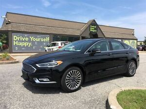 2017 Ford Fusion SE/LEATHER/NAV/SUNROOF/BACKUP CAM