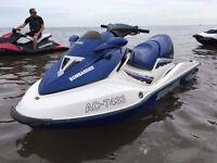 Seadoo GTX DI, Blue 3 Seater with trailer