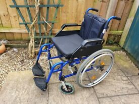 Lightweight Self Propelled Wheelchair - Drive Enigma - Removable Rear Wheels on wheel chair