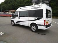 2007 57 ford transit 2 berth camper