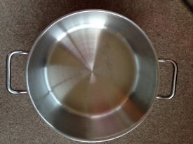 Vogue Stainless Steel 12.5ltr Boiling Pot - New