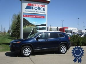 2014 Jeep Cherokee North 5 Passenger 4X4, 9 Speed Automatic
