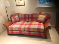 Designer Tom Schneider large two seater sofa