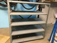 5 Tier Robust Metal Shelving Unit