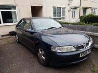 Spares or repair. Vauxhall vectra for sale