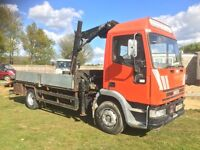 Iveco new cargo 120e15 hiab lorry 071 recovery dropside lorry