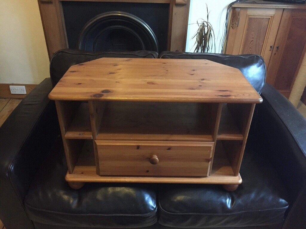 Great Solid Wood Corner Tv Stand In Aberdeen Gumtree