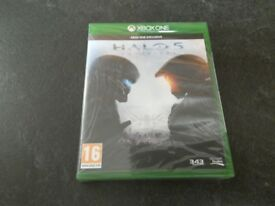 New sealed XBoxOne Halo 5 Guardians