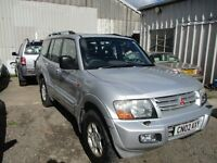 2002 02 MITSUBISHI SHOGUN 3.2 TD EQUIPPE AUTO NEW TURBO AND HEAD GASKET FULL MOT TOW BAR PX SWAPS
