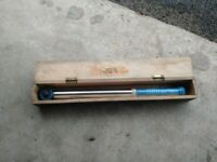 The North Bar Tool Co. Torque Wrench No 966947. 1/2 Drive. 20-100 Nm.