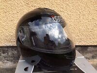 Small Motorcycle Helmet Black