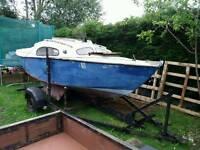 Hurley silhouette MK III sailing boat