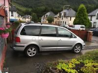Seat Alhambra Stylance 2 litre diesel.